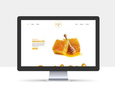 diseño página web granalbe