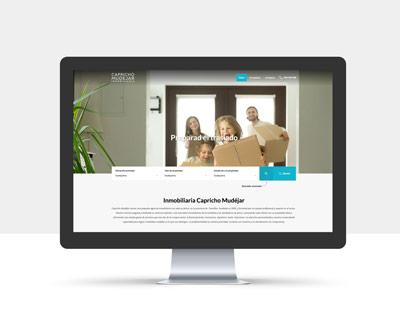 diseño página web capricho mudejar