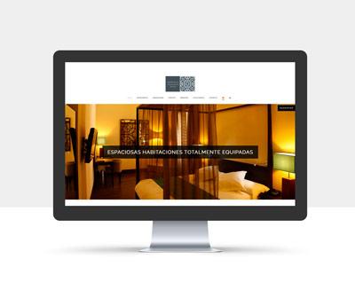 diseño página web hotel martin el humano
