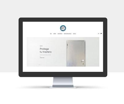 diseño página web protege tu trastero