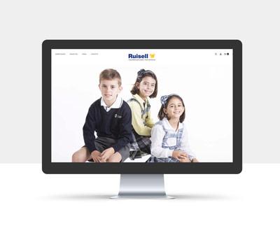 diseño página web ruisell