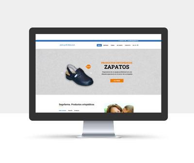diseño página web segofarma
