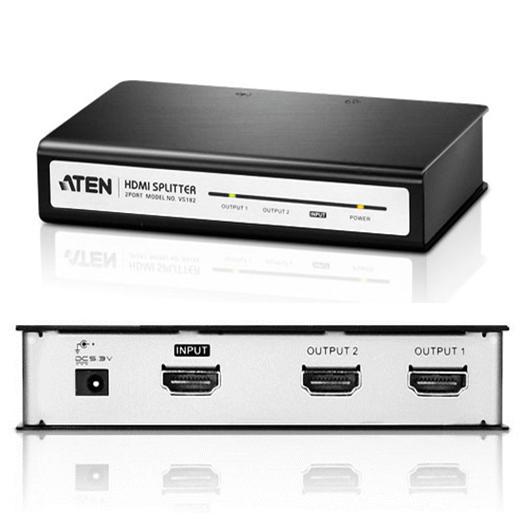 ATEN VS-182 2-Port HDMI SPLITTER