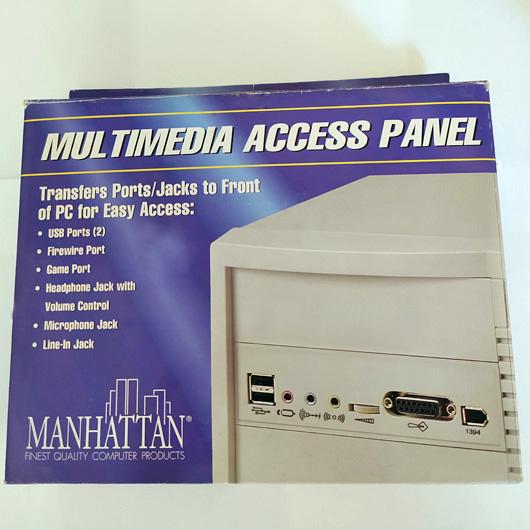 Panel De Acceso Multimedia Manhattan 2