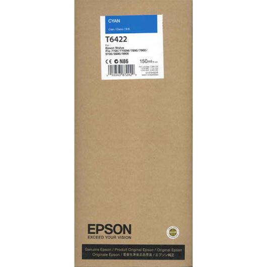 CARTUCHO TINTA EPSON T6422 CIAN